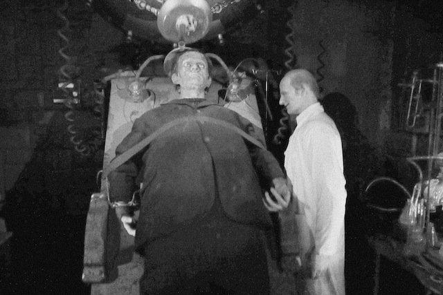 Dr. Frankenstein and his creature. Movieland Wax Museum in Niagara Falls, Canada. Image via Flickr user Diego3336.