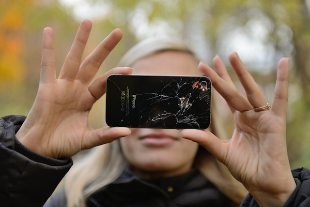 Lauren Cornell's selfie. Image courtesy of Lauren Cornell for Hyperallergic.