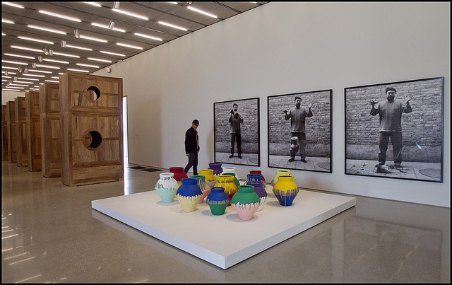 """Installation view,  """"Ai Weiwei: According to What?"""" at the Pérez Art Museum (photo by Patrick Farrell for Visit Florida, via Flickr)"""