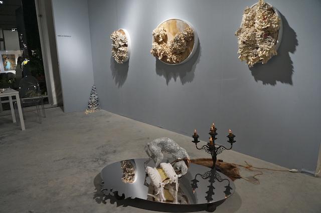 Amelia Biewald's work installed by Magnan Metz