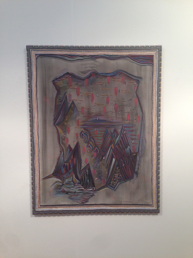 """Zach Harris, """"Central Park in a No Vex Cave"""" (2012-13) at Zach Feuer"""