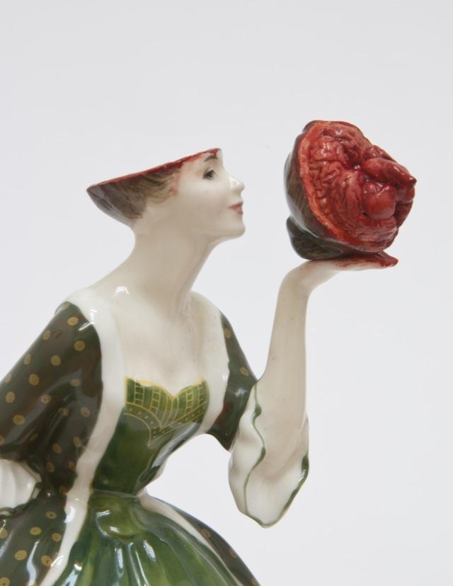 Bloody Bloody Boudoir Ladies Turning Kitsch Ceramics Into