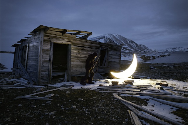 """""""Private Moon"""" in the Arctic"""