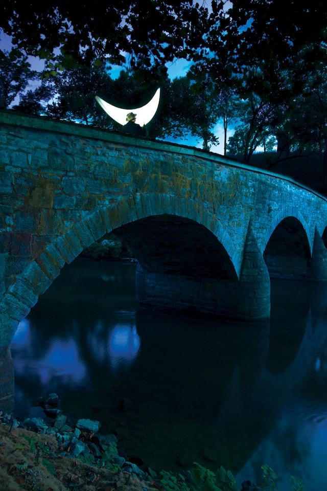"""Private Room"" on the bridge Antietnam"
