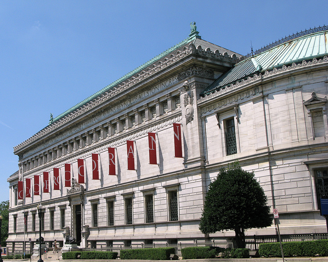 The Corcoran Gallery's beaux-arts building