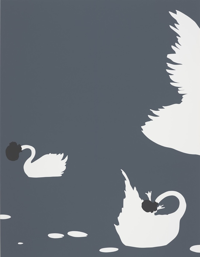 "Kara Walker, ""The Emancipation Approximation (Scene #23),"" (1999-2000). Screenprint."