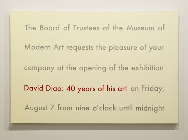40 Years of His Art - moma invite 400dpi