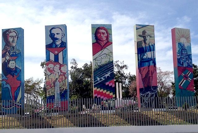 ALBA monument brightened