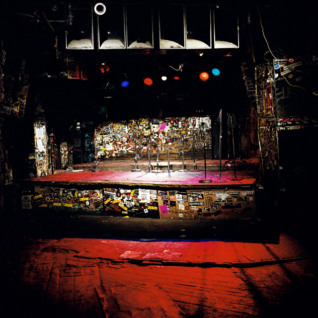 CBGB, New York, NY October 4, 2006 40 x 40 inches, color coupler print mounted on aluminum