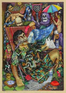 """Nolasco Dagoberto's """"The Heroes Are Tired"""" (courtesy of MARTE)."""