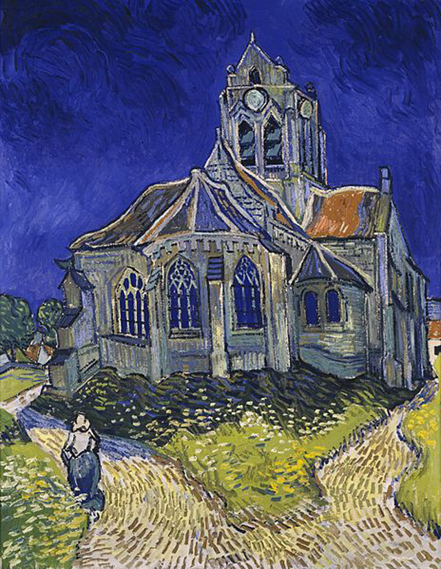"""The Church in Auvers-sur-Oise, View from the Chevet"" (1890)"