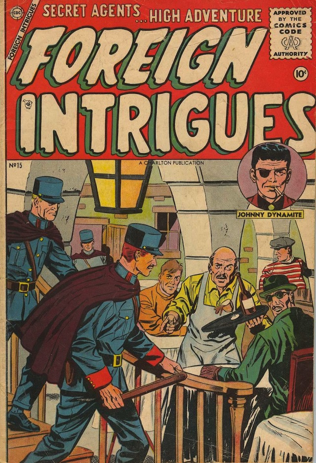 Foreign Intrigues #15 (1956) (via Comic Book Plus)
