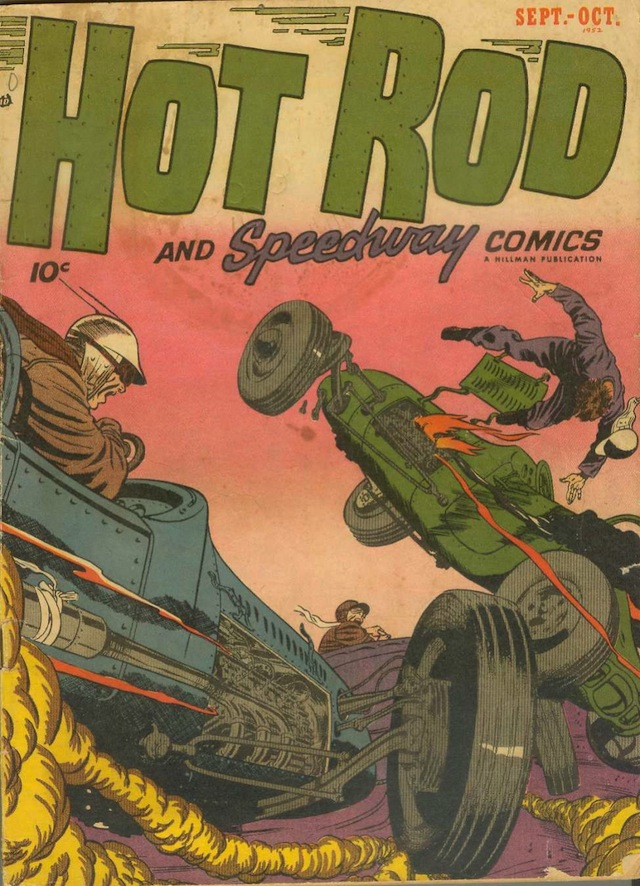Hot Rod and Speedway Comics v1 #2 (1952) (via Comic Book Plus)