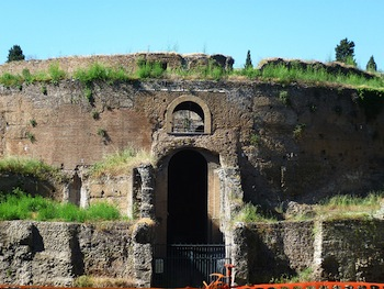 Mausoleum of Augustus in Rome (photograph by Charlie Dave, via Flickr)