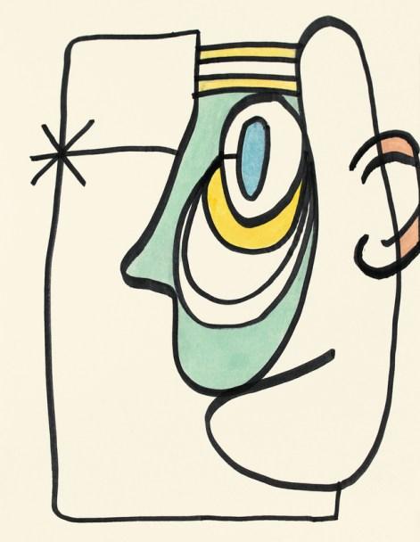 Kurt Vonnegut,《無題》(第二名)