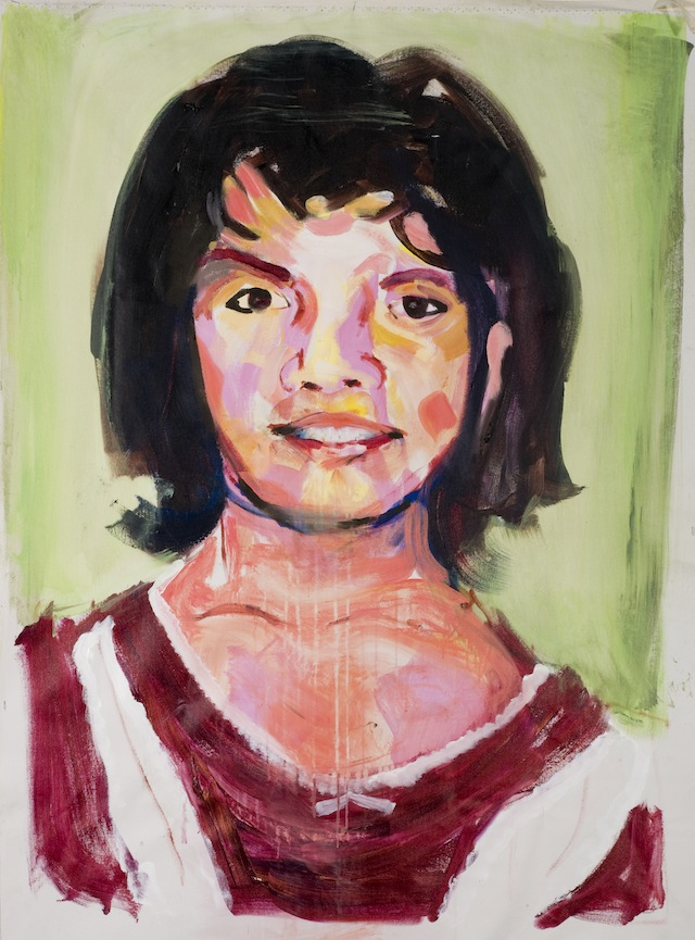 """""""Ana Maria Gardea Villalobos was eleven years of age when she was raped by several people and stabbed near Cerro """"ball"""" in Ciudad Juarez on March 14, 1998. Ana Maria was kidnapped when she went down the street toward her house. Ana is one of Juanita's eldest children. Her death came at the beginning of these killings. Her mother spoke of how the pain returns with the reports of other young teenagers who are found in mass graves. In the 15 years since Anna's killing, the last such find was in February 2012. As in many such homes there is a large shrine in the house remembering Ana."""" (2009)"""
