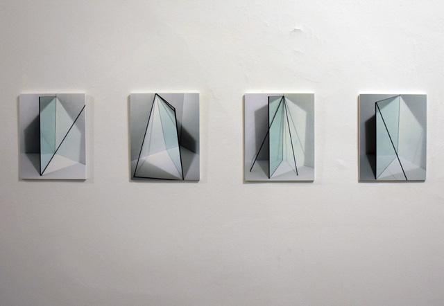 "Erin O'Keefe, ""Mirror/Stick Studies 1-4"" (2014)"