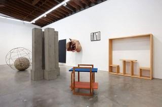 Installation view, 'Michelangelo Pistoletto: The Minus Objects 1965-1966' at Luhring Augustine Bushwick (photo courtesy the artist and Luhring Augustine, New York)