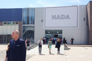 The entrance to NADA New York 2013 (photo by the author for Hyperallergic)