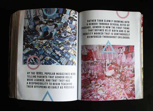 A spread from 'The WORN Archive'
