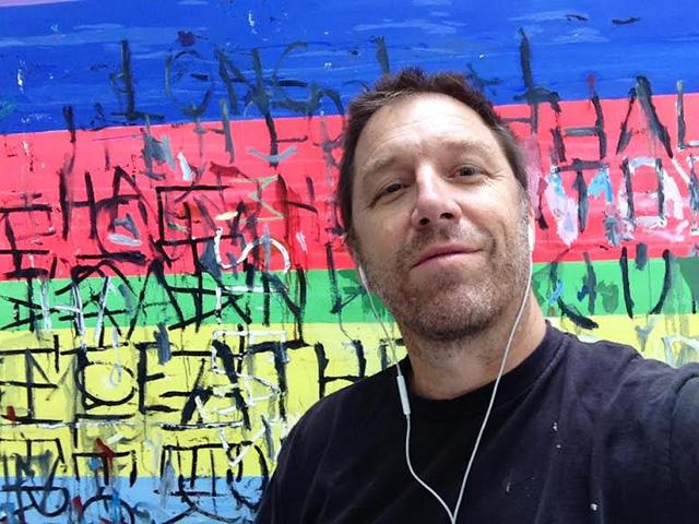 Selfie by Mark Dutcher (photo courtesy Mark Dutcher)