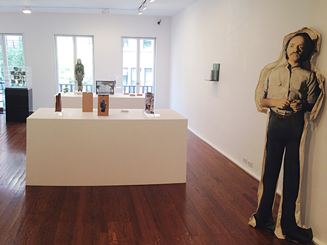 Installation view, 'The Photographic Object, 1970' at Hauser & Wirth (all photos by the author for Hyperallergic)