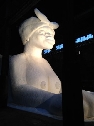 "Kara Walker, ""A Subtlety"" (2014) at Domino Sugar Factory (click to enlarge)"
