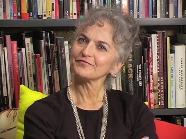 """Barbara DeGenevieve in a still from her video """"Desperado"""" (all images via degenevieve.com)"""