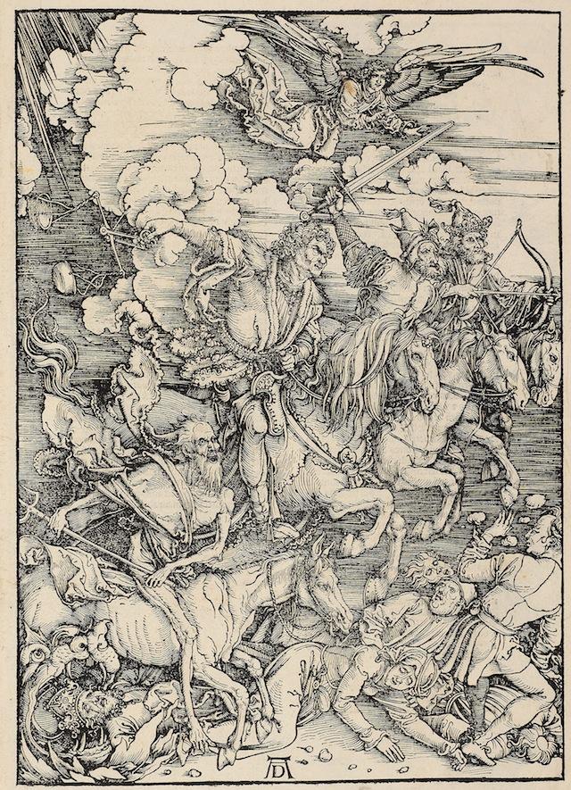 Albrecht Dürer (1471–1528) Apocalypsis (The Apocalypse)  Nuremberg: Hieronymus Höltzel, 1511  Douce D subt. 41  The Bodleian Library, Oxford