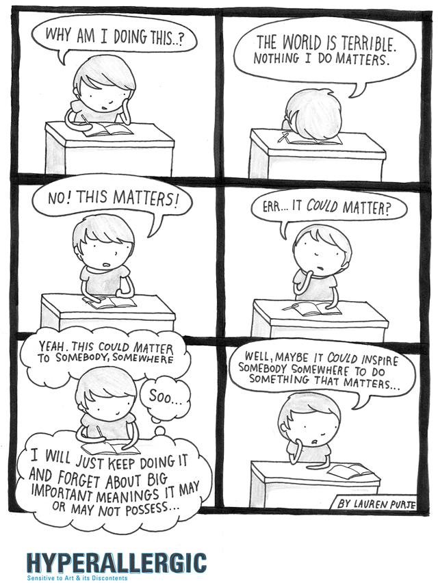 Do Comics Matter?