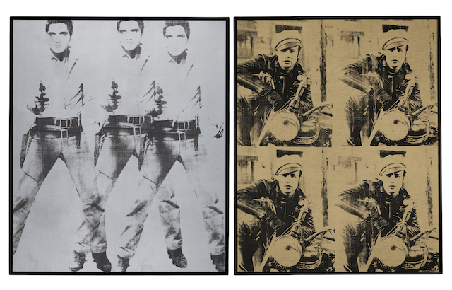Warhol - Elvis Marlon © 2014 The Andy Warhol Foundation for the Visual Arts, Inc. Artists Rights Society (ARS), New York