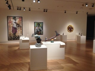 Installation view, 'State of the Art' at Crystal Bridges Museum (click to enlarge)