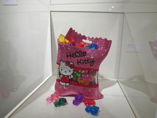Hello Kitty crystal gummy bear bag
