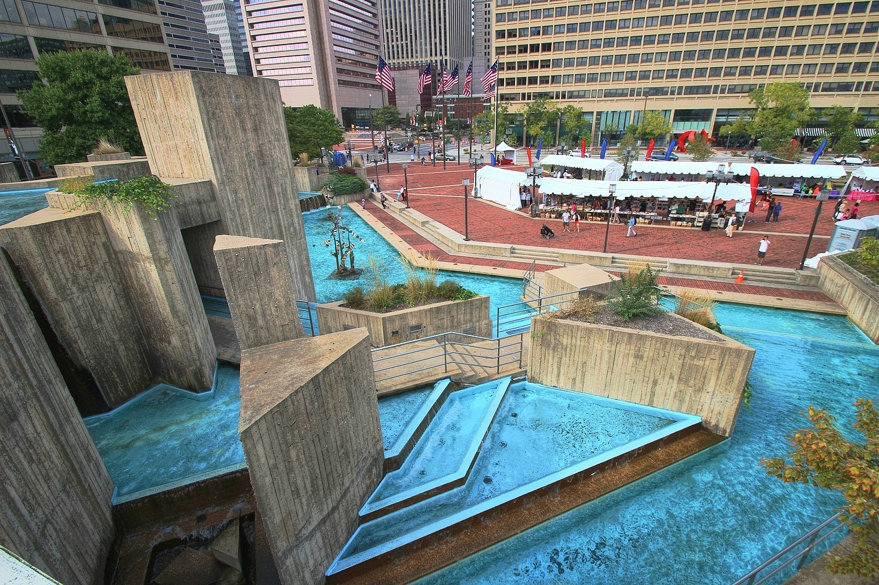 Will Landmark Modernist Fountain In Bmore Soon Be No More