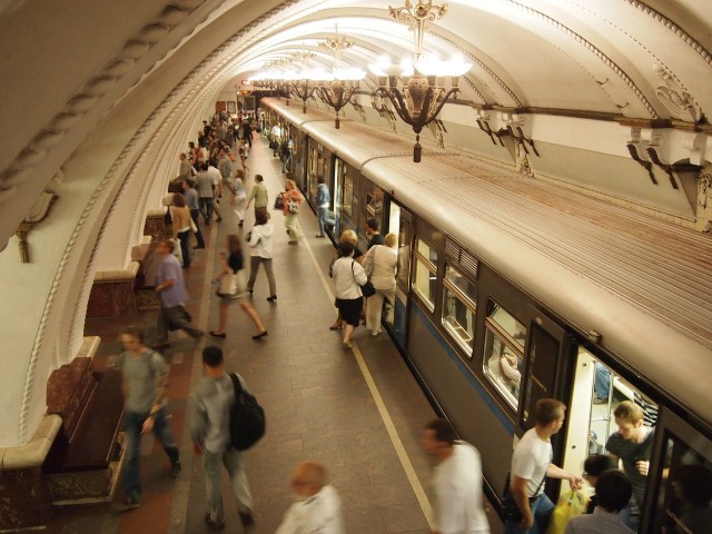 A Moscow Metro station (photo by Andos_pics/Flickr)