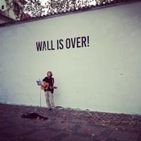Art Students Erase Historic Graffiti Wall in Prague