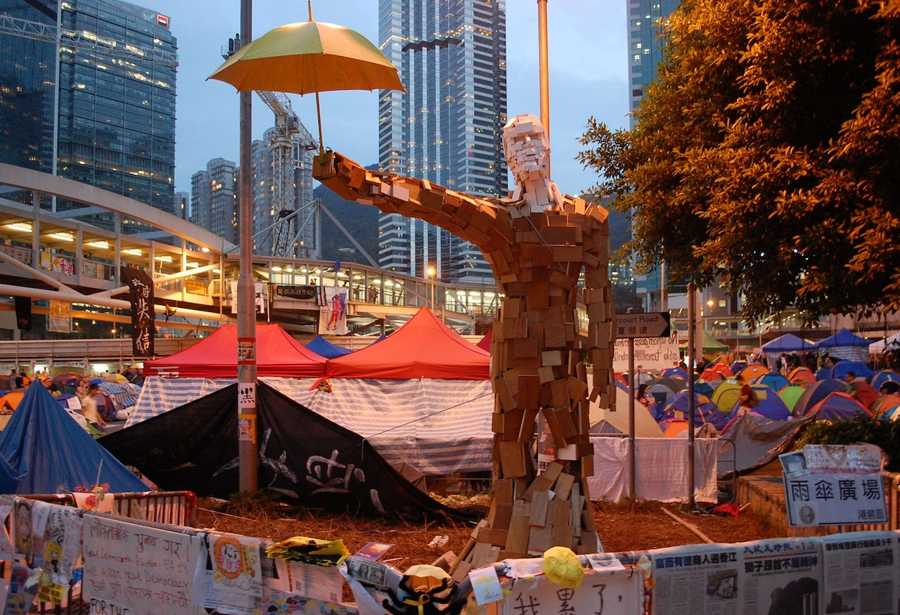 A Scramble to Save Protest Art from Ferguson to Hong Kong