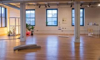 Installation view of Almost Ergonomic at Studio 424 (photo via Studio 424's site)