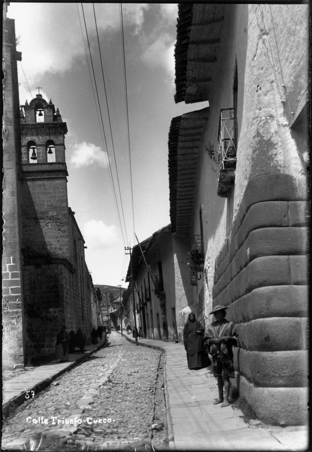 Rua Triunfo, Cusco, 1924