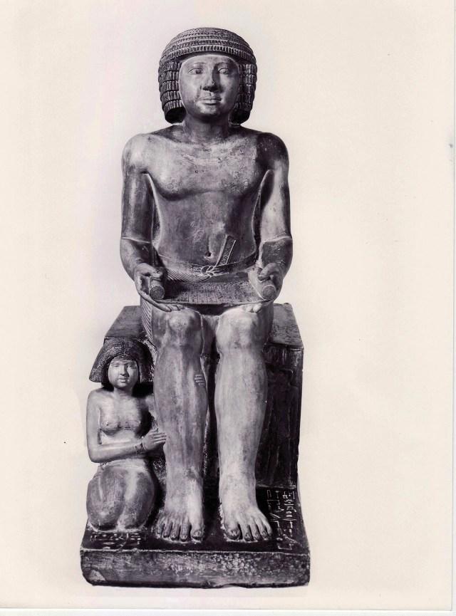 The Northampton Sekhemka statue (image via Wikipedia)
