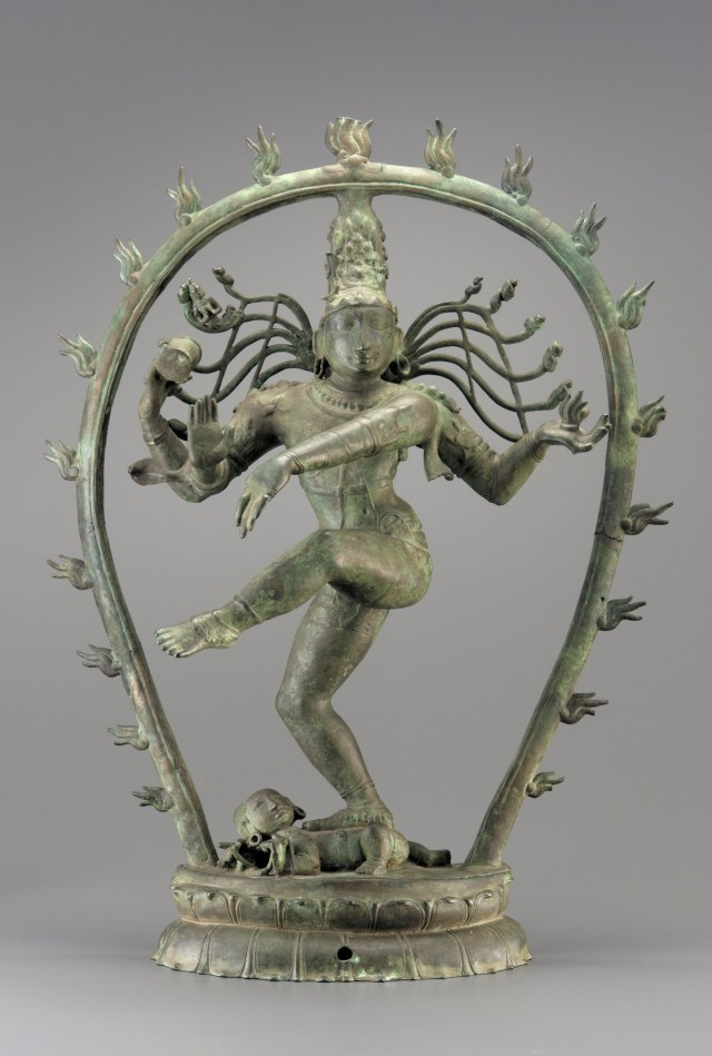 """""""Shiva Nataraja"""" (c. 990),  India, Chola dynasty, bronze, Purchase—Margaret and George Haldeman, and Museum funds, Freer Gallery of Art"""