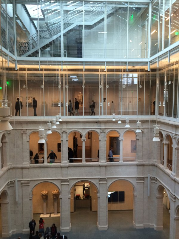 Harvard Art Museums Top-bottom Renovation