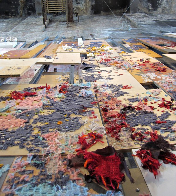 Fabric Art Installation