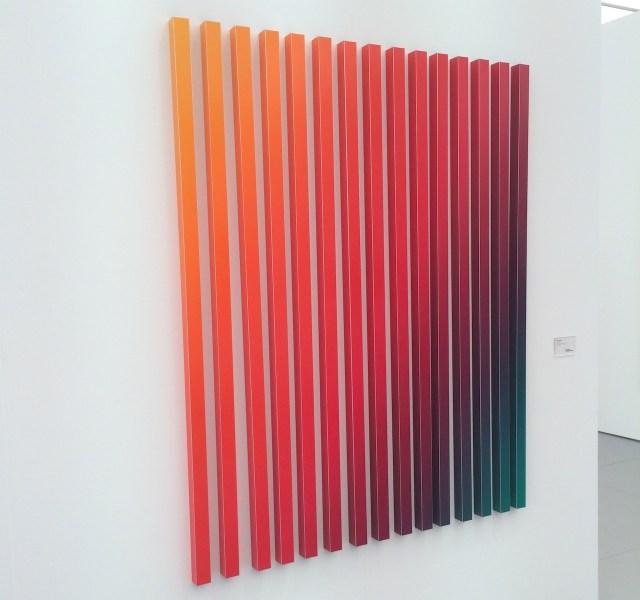 """Dennis Loesch, """"Gradient Type II"""" (2013) in the Dittrich & Schlechtriem booth"""