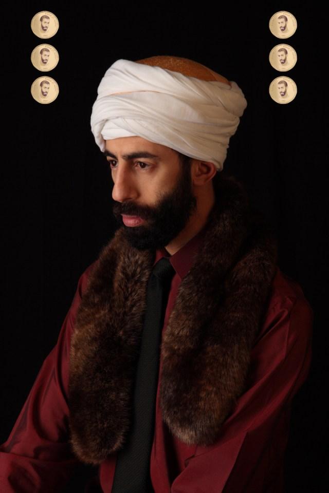 """2Fik, """"Le Sultan Abdel"""" (2013) (courtesy the artist)"""