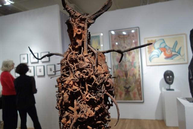"Sylvain & Ghyslaine Staelens, ""Fétiche"" (2012), mixed media, Cavin-Morris Gallery"