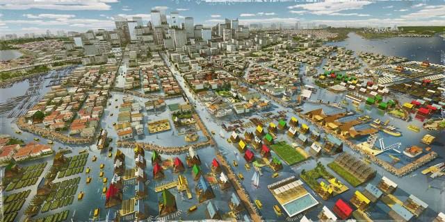 Lagos Tomorrow. 2014. Water. Courtesy NLÉ and Zoohaus/Inteligencias Colectivas