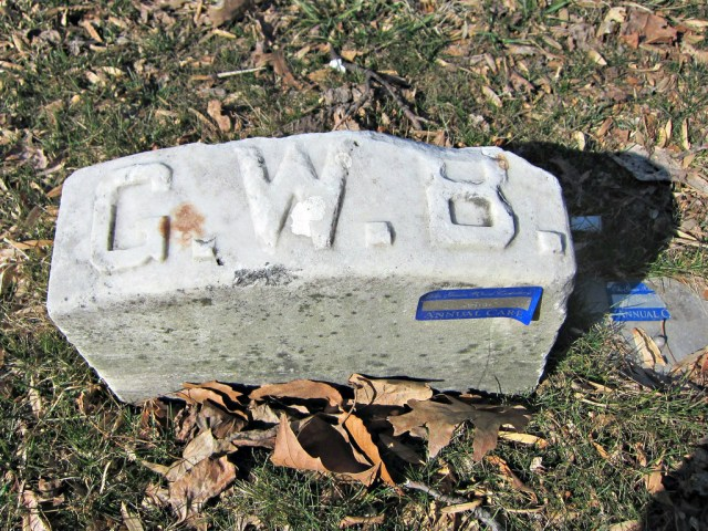 Grave of George Bellows in Green-Wood Cemetery