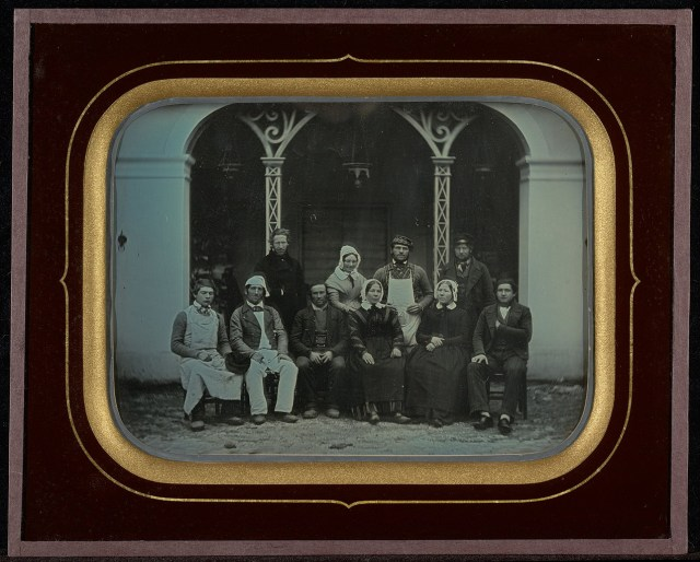 "Jean-Gabriel Eynard, ""Ten Servants"" (1849), daguerreotype (J. Paul Getty Museum, via Wikimedia)"