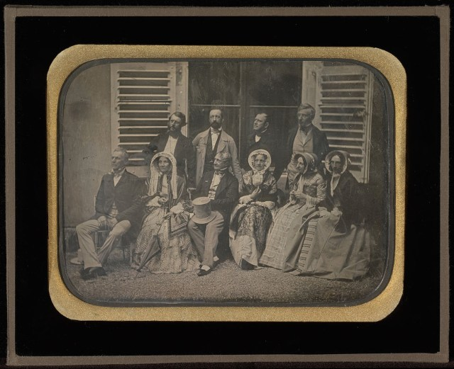 "Jean-Gabriel Eynard, ""Family and Friends at Fleur d'Eau"" (1850), daguerreotype (J. Paul Getty Museum, via Wikimedia)"